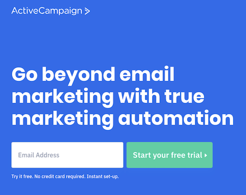 activecampaign free trial lead magnet