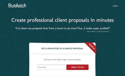 lead magnet idea free proposal
