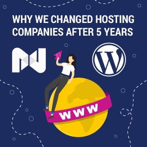 Why We Changed Hosting Companies After 5 Years (and Where We Host Now)